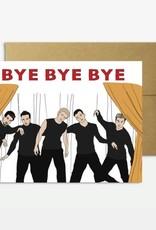 Party Mountain Paper Co Party Mountain Paper co. | N'Sync Bye Bye Bye