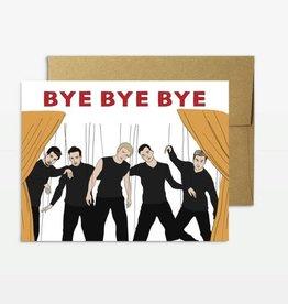 Party Mountain Paper Co Party Mountain Paper co.   N'Sync Bye Bye Bye
