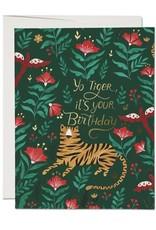 Red Cap Red Cap | Tiger Foil Birthday