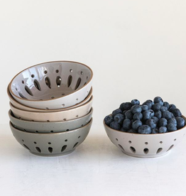 Creative Co-Op Ceramic Berry Bowl