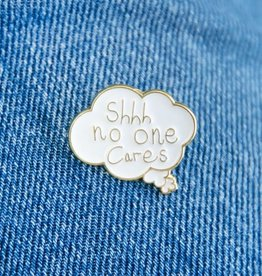 Ohh Dear Ohh Dear |No One Cares Enamel Pin
