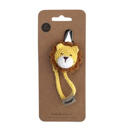 Cheengoo Crochet Lion Pacifier Clip