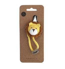 Cheengoo Crochet Lion Pacifier Clip