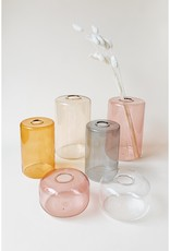 Colored Glass Bud Vases