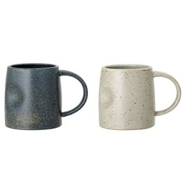 Bloomingville Dimpled Night and Day Mugs