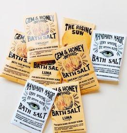 Wild Yonder Botanicals Bath Salt Packets