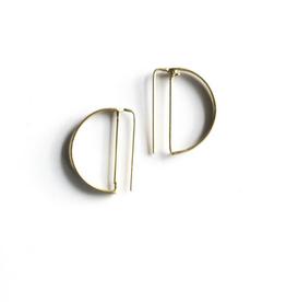 Circle Outline Earrings