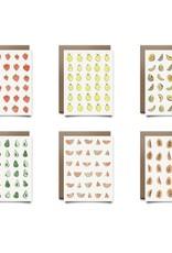 Drawings By Renee Drawings By Renee | Cute Fruit + Flora & Fauna Boxed Card Set