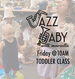 Jazz Baby Jazz Baby | 10AM Toddler Class