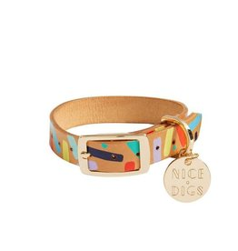 Nice Digs Nice Digs | Confetti Dog Collar (XS)