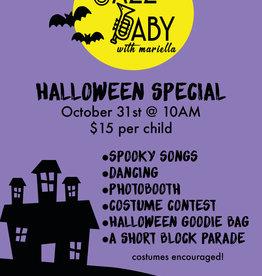 Jazz Baby Jazz Baby   10AM Halloween Special (10/31)