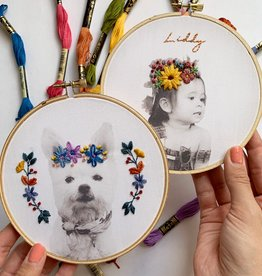 Workshop: Custom Portrait Embroidery 12/6