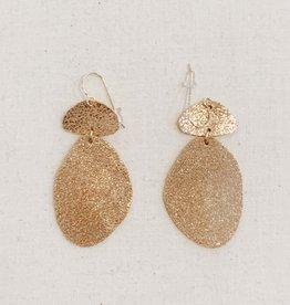 Sol Proaño Sol Proaño | Cuero Earrings #2 (Rose Gold)