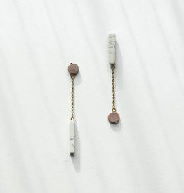 Rover & Kin Rover & Kin | Reverse Claywork Earrings