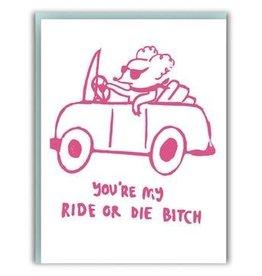 Ghost Academy Ride or Die Card