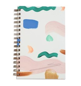 Mōglea Seashape Painted Notebook