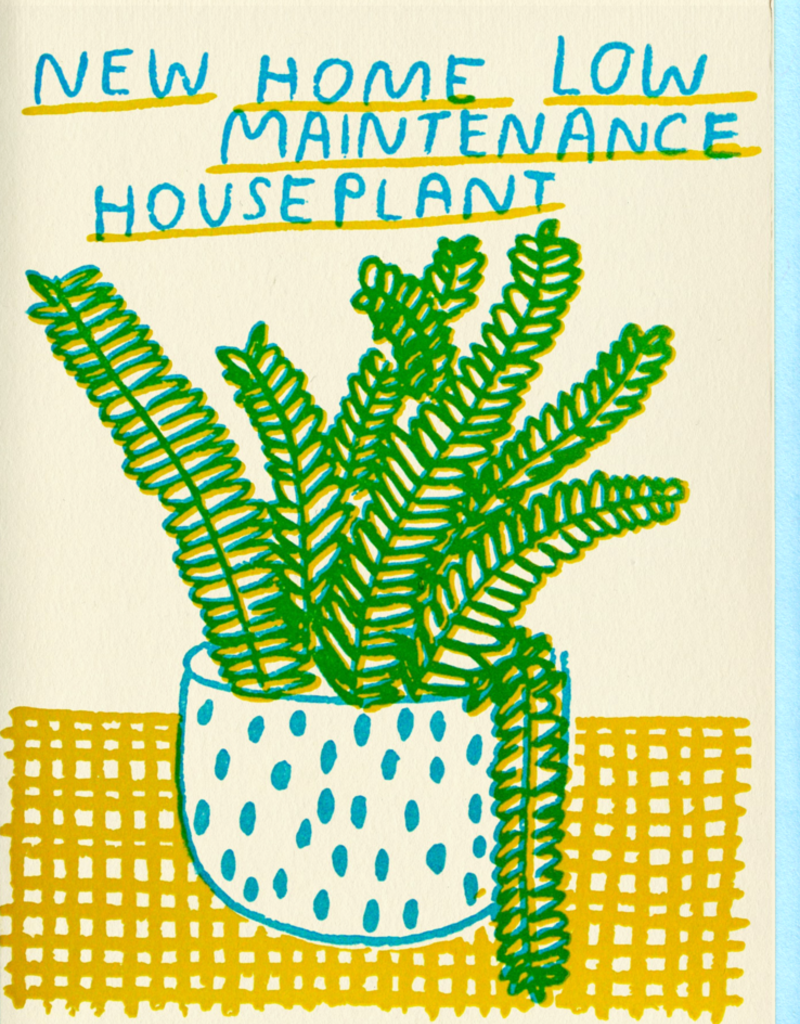 People I've Loved People I've Loved | New Home Houseplant Card