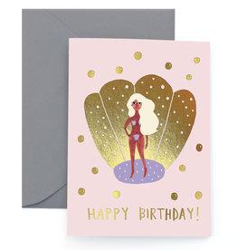 Carolyn Suzuki Birth of Venus Birthday Card