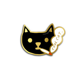 Carolyn Suzuki Cool Cat Pin