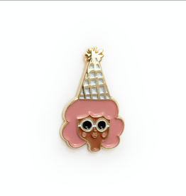 Carolyn Suzuki Party Girl Pin