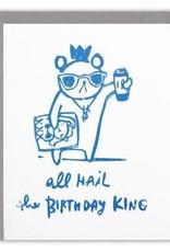 Ghost Academy Ghost Academy | Birthday King  Card