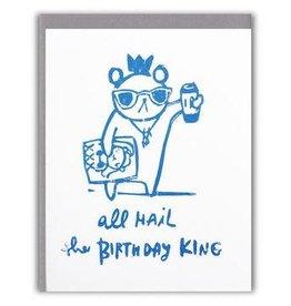 Ghost Academy Birthday King  Card