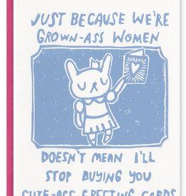 Ghost Academy Cute Ass Card