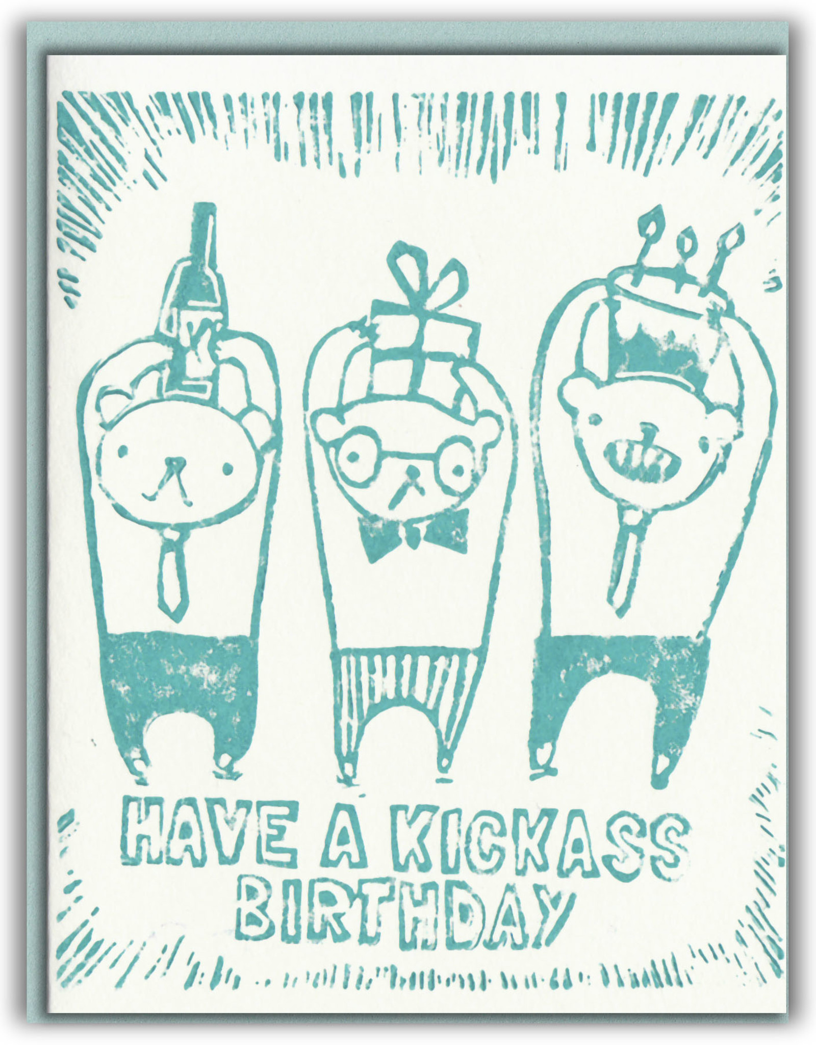 Ghost Academy Ghost Academy |Kickass Birthday  Card