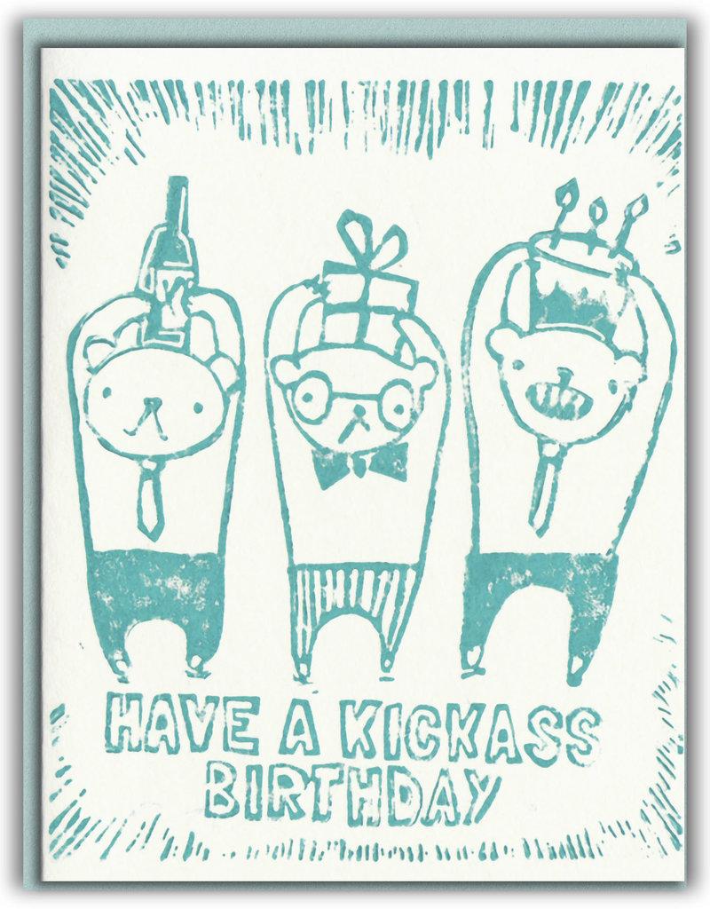 Ghost Academy Ghost Academy |Kickass Birthday  Card
