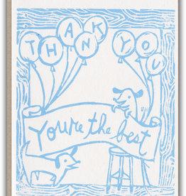 Ghost Academy Dog Thank You Card