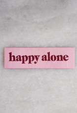 Stay Home Club Stay Home Club | Happy Alone Iron-On Patch