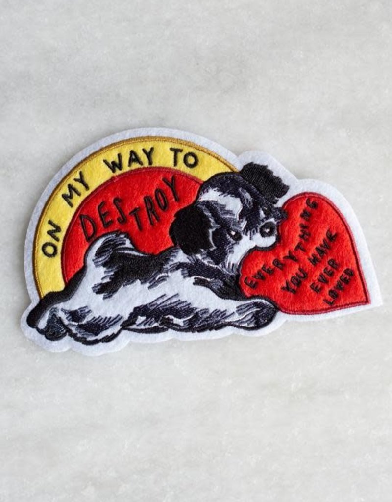 Stay Home Club Stay Home Club | Destroy Everything Iron-On Patch