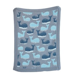 Whale Knit Baby Blanket