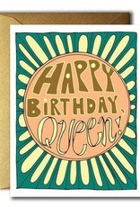 Native Bear Native Bear | HBD Queen Card
