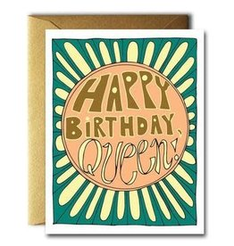 Native Bear HBD Queen Card