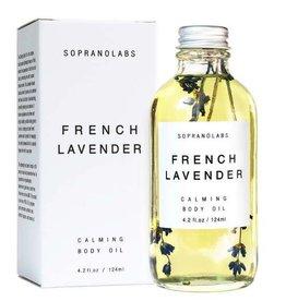 Soprano Labs French Lavender Calming Body Oil