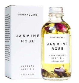 Soprano Labs Jasmine & Rose Sensual Body Oil