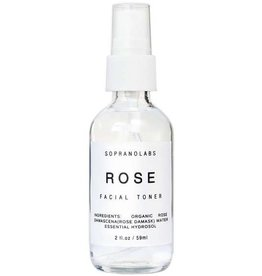 Soprano Labs Rose Hydrating Mist Organic Face Toner