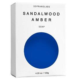 Soprano Labs Sandalwood Amber Vegan Soap