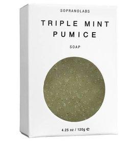 Soprano Labs Triple Mint Pumice Soap