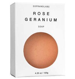 Soprano Labs Rose Geranium Vegan Soap