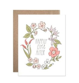 Hartland Brooklyn Hartland Brooklyn| Happily Ever After Wreath Card