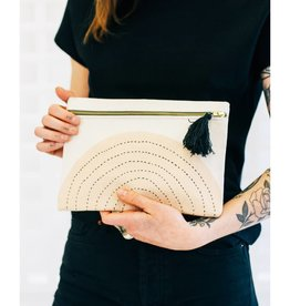 Anchal Small Ivory Eclipse Pouch