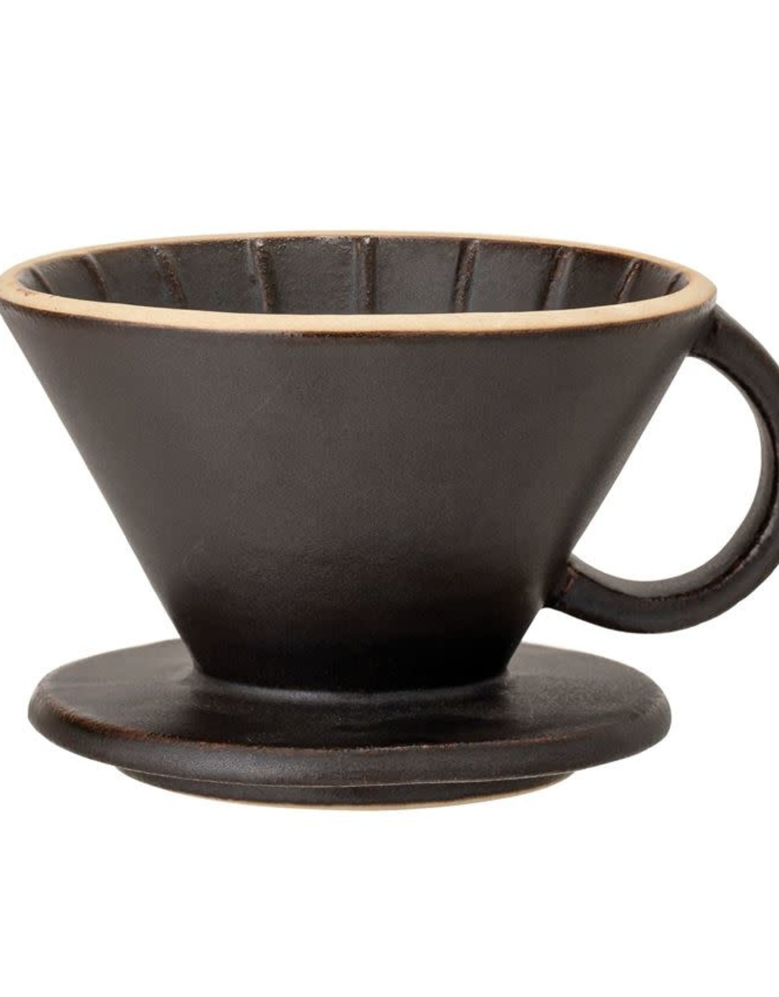 Black Matte Pour Over Coffee Drip