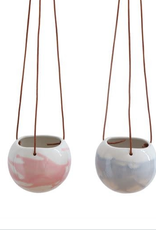 Marbled Hanging Pot