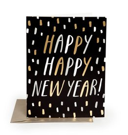 The Social Type The Social Type | New Year Confetti Card