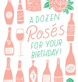 The Good Twin Dozen Rosés Card