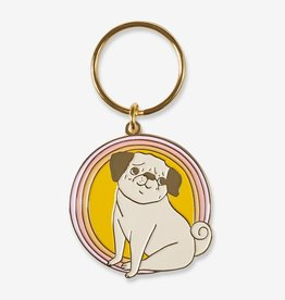 The Good Twin Peggy Keychain