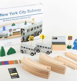 Daron Daron | MTA Wooden Train Set