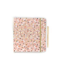 Idlewild Co. Terrazzo 2020 Planner with Pen